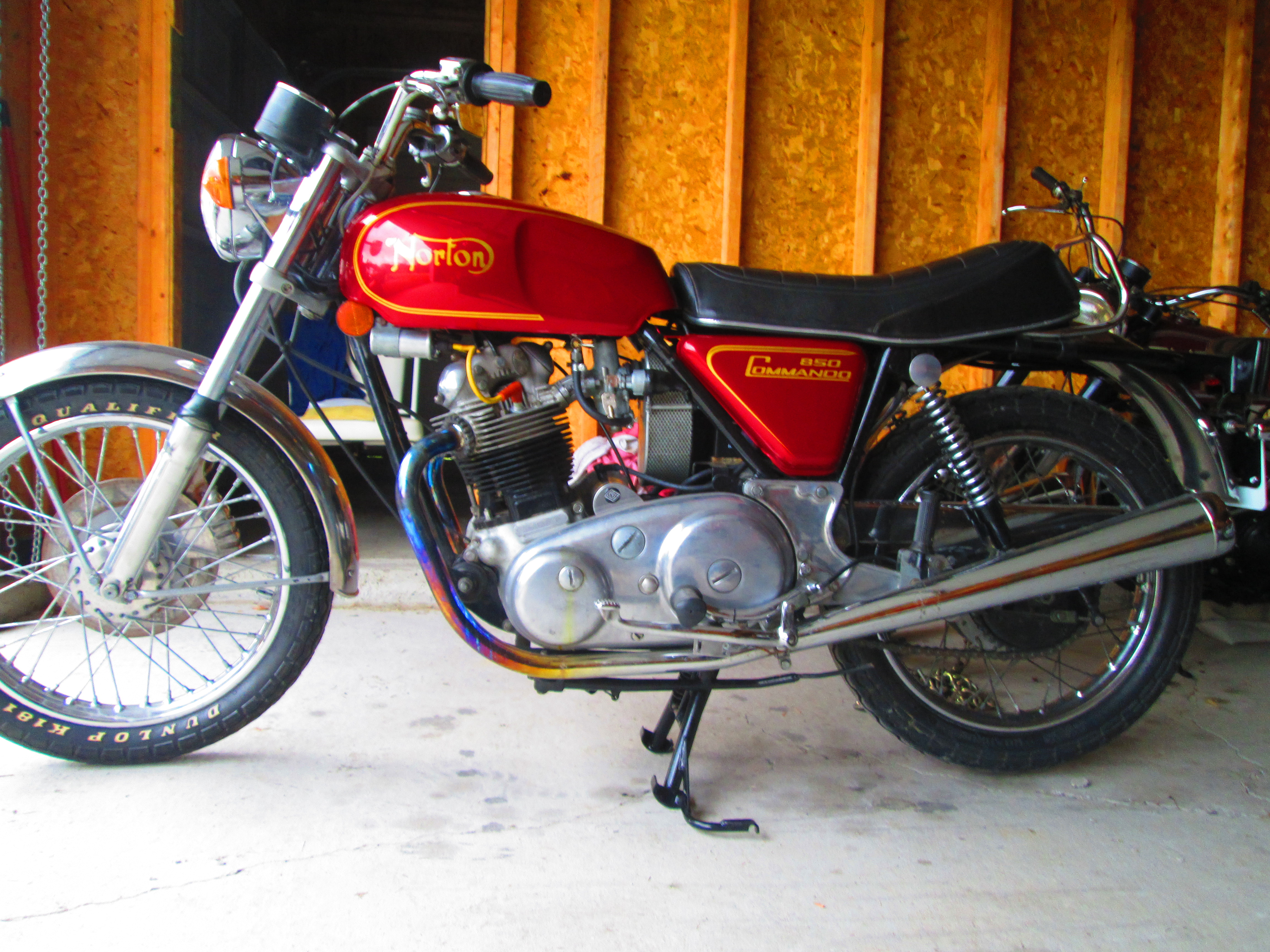 1974 Norton 850 Roadster  $13,000