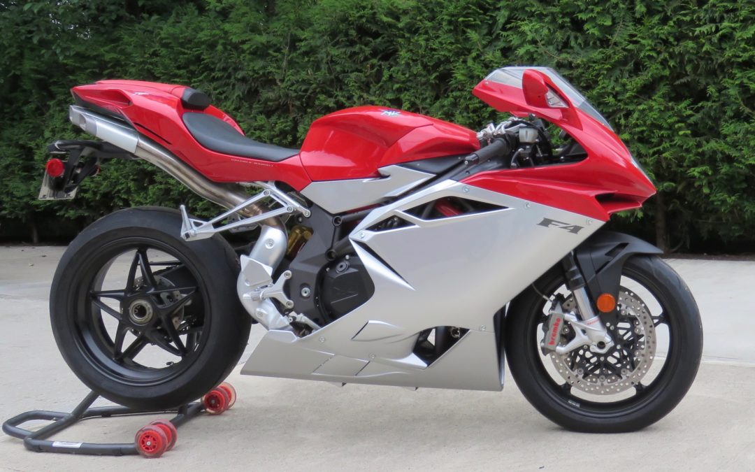 2011 MV Agusta F4 with only 400km   $15,500 New lower price
