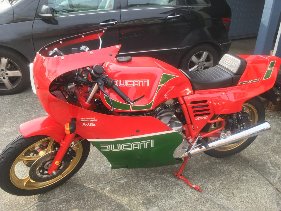 1985 Ducati Mike Hailwood Replica Mille 1000 $25,000 US (approx $33,500 Cad)