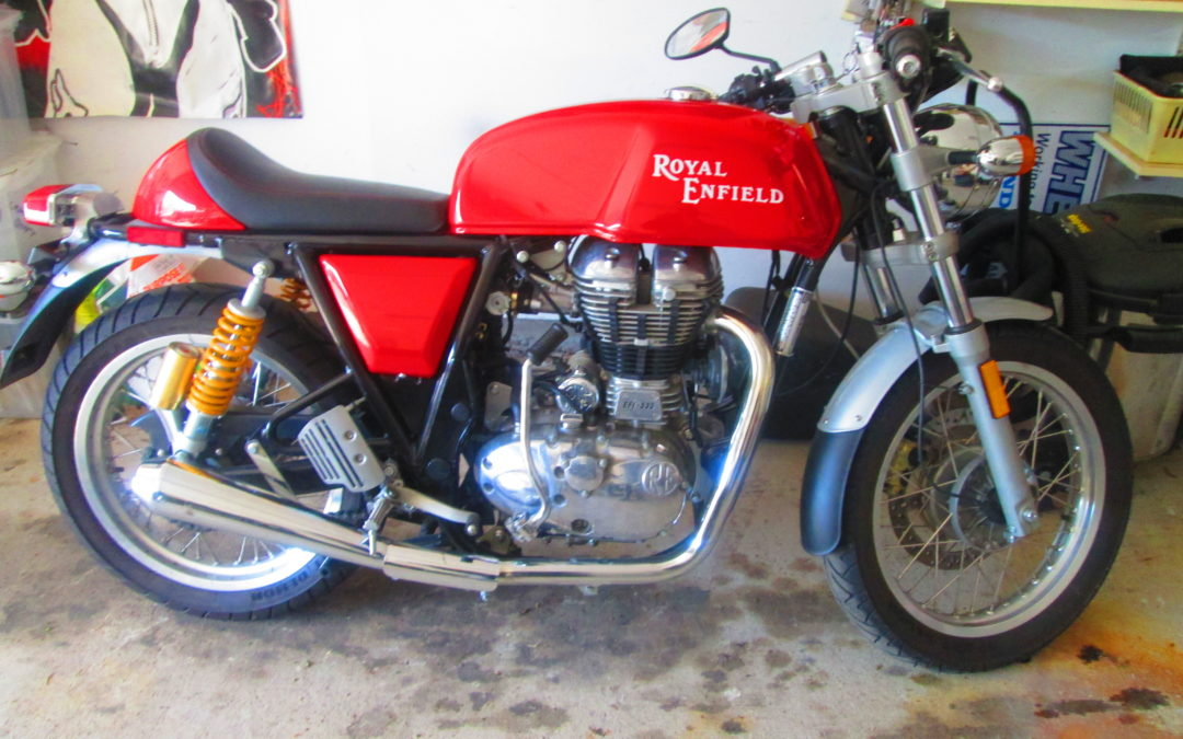 2014 Royal Enfield Continental GT $6000