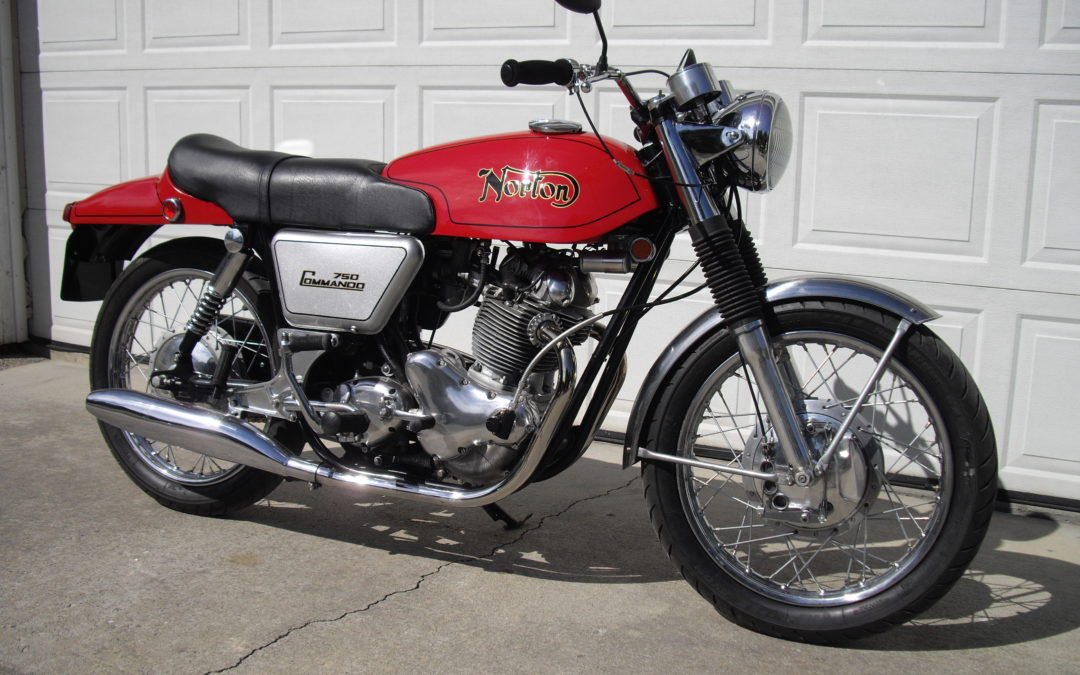 1969 Norton Fastback   $15,500  Just Listed