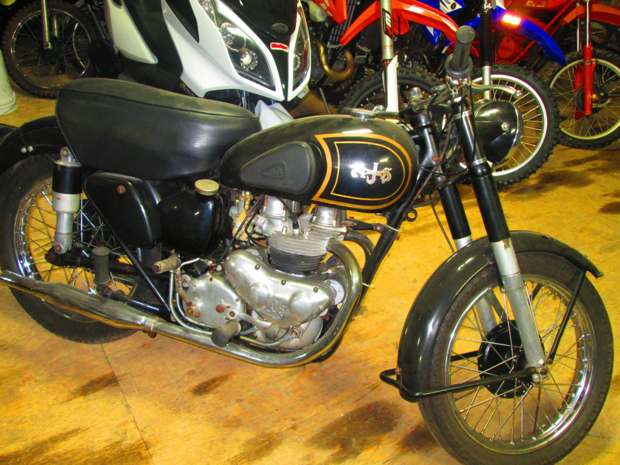 1952 AJS G20 500cc Twin New Listing $5000