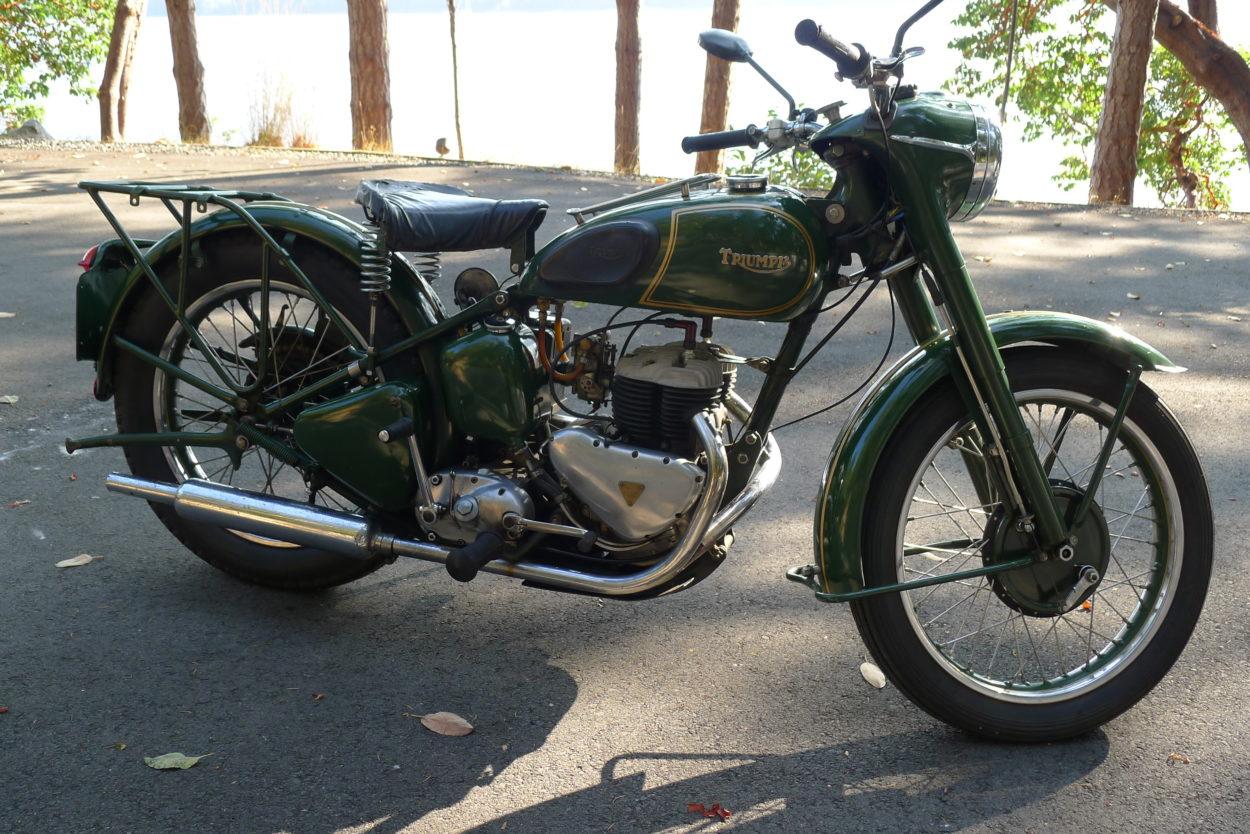 1950 Triumph Military TRW 500cc  $7200