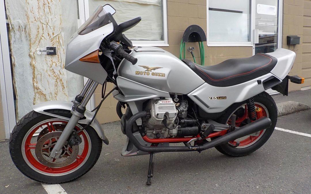 1985 Moto Guzzi Lario V65  Price reduce to $4000