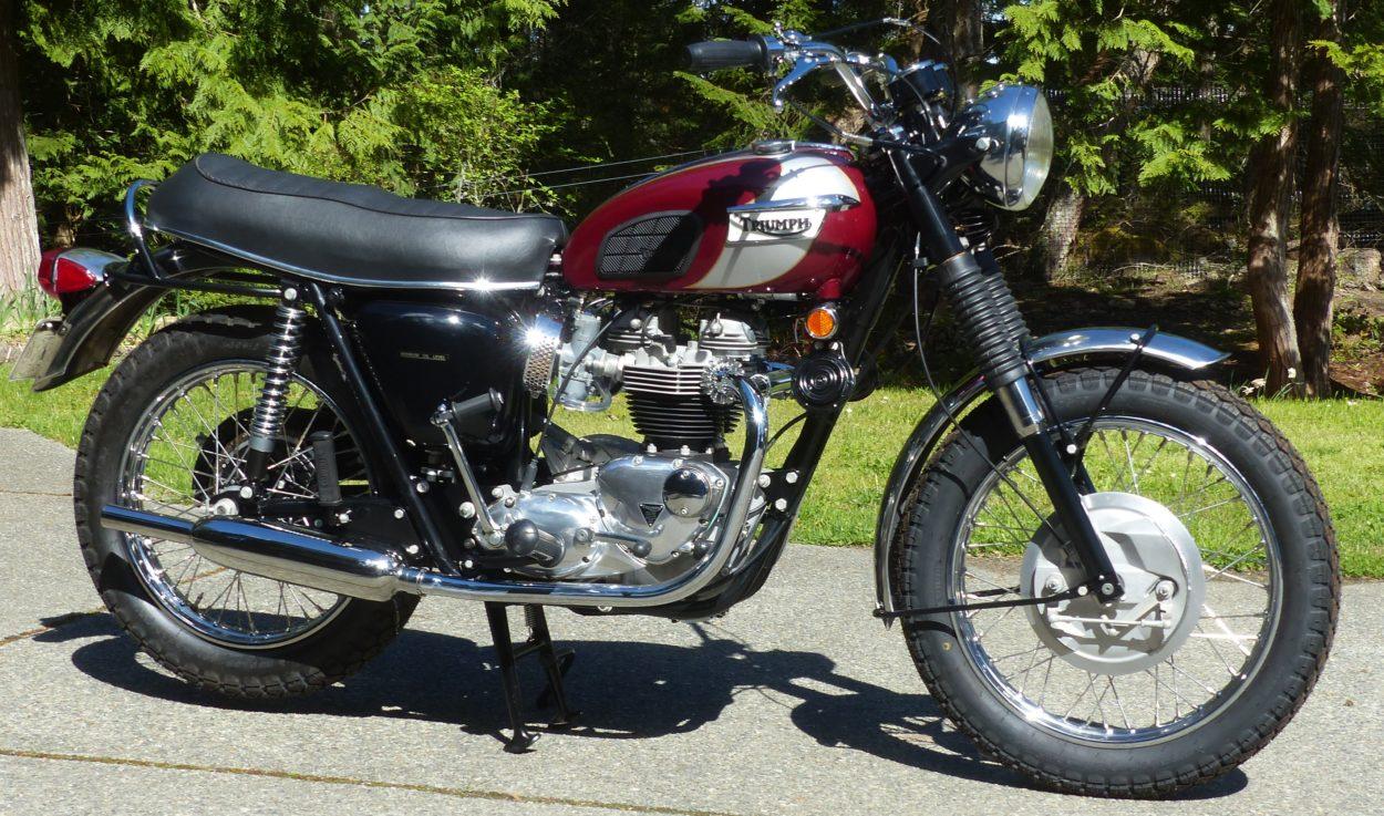 1970 Triumph T120R Bonneville    $16,800