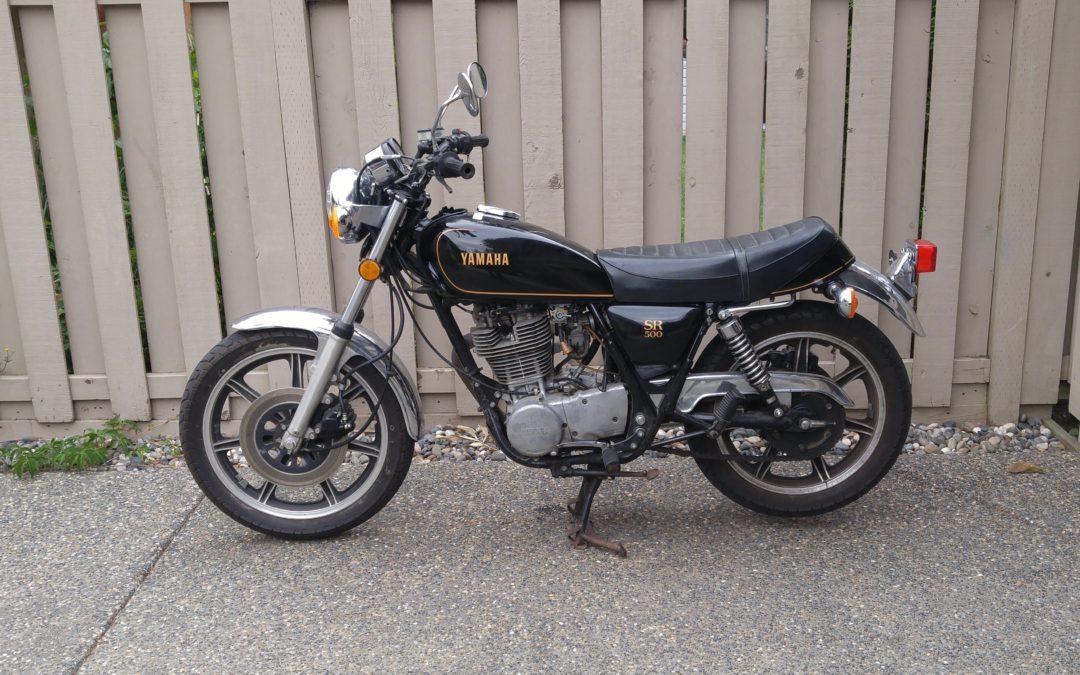 1978 Yamaha SR500      $4600