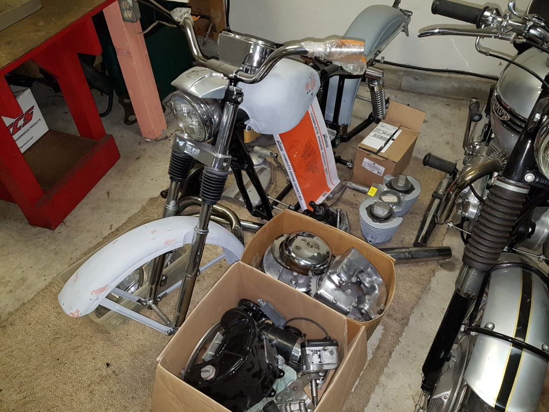 1960 Harley-Davidson  Sportster XLCH Project Bike  Reduced to $2800 cdn