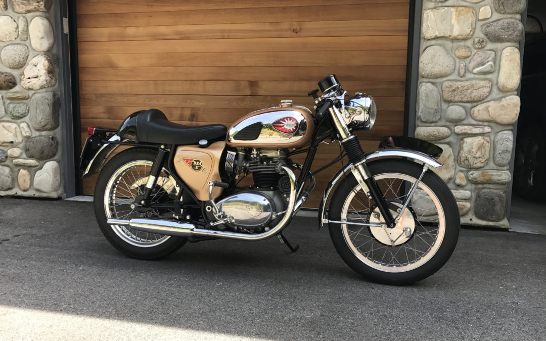 1965 BSA A65 Lightning Clubman    Sorry Sold