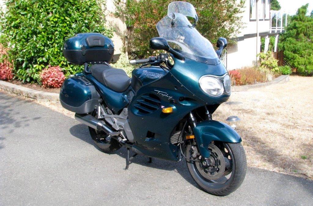 1996 Triumph Trophy 900cc       $3900cad