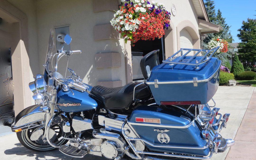 1979 Harley Davidson FLH 80 Ex-Shriner Drill Team Bike    $2000 price reduction , now $10,000cad