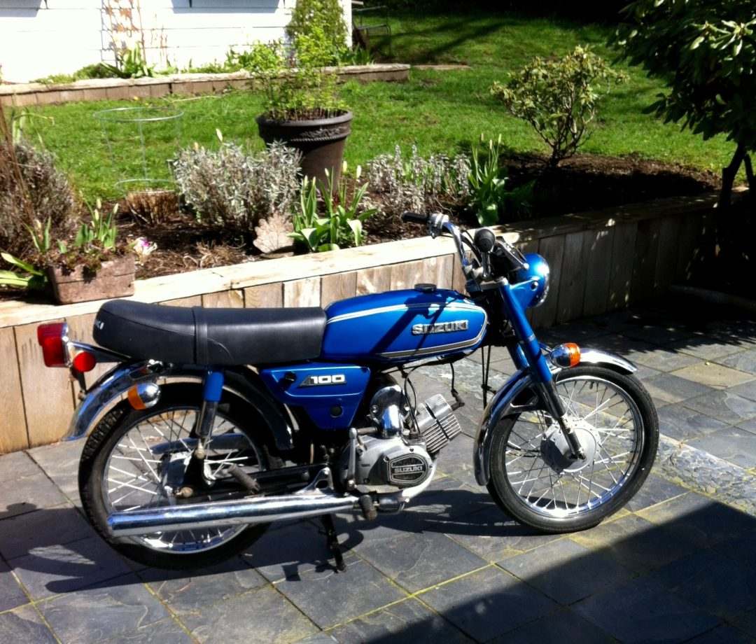 1979 Suzuki A100 2 Stroke ( Tiddler)      **New lower price $1800**