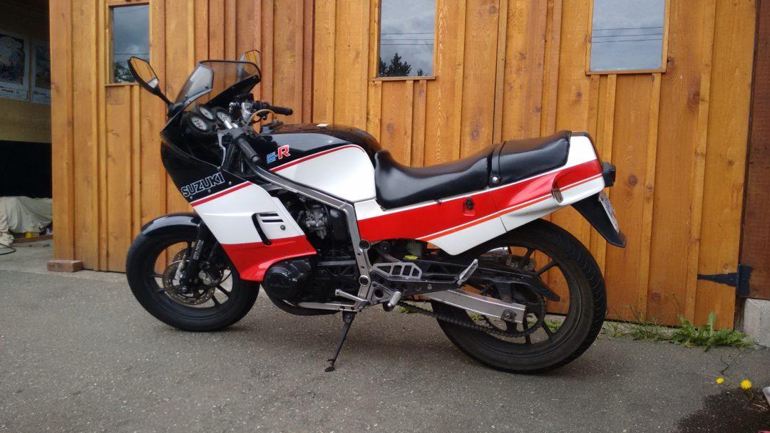 1985 Suzuki GSX R400                $2450cad