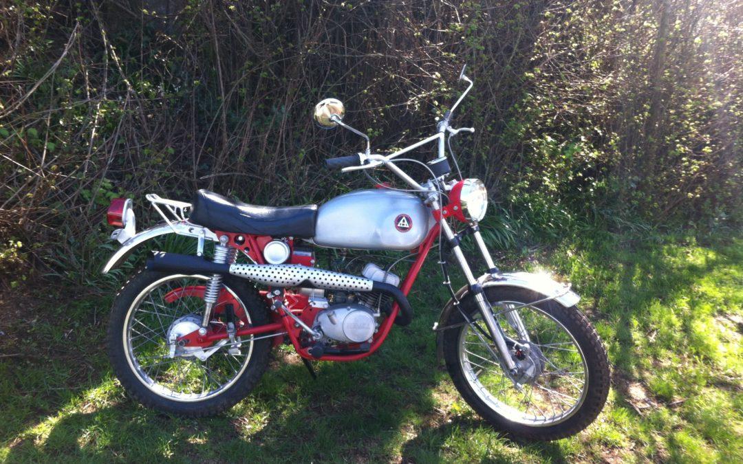 1970 Hodaka Ace 100        $1800
