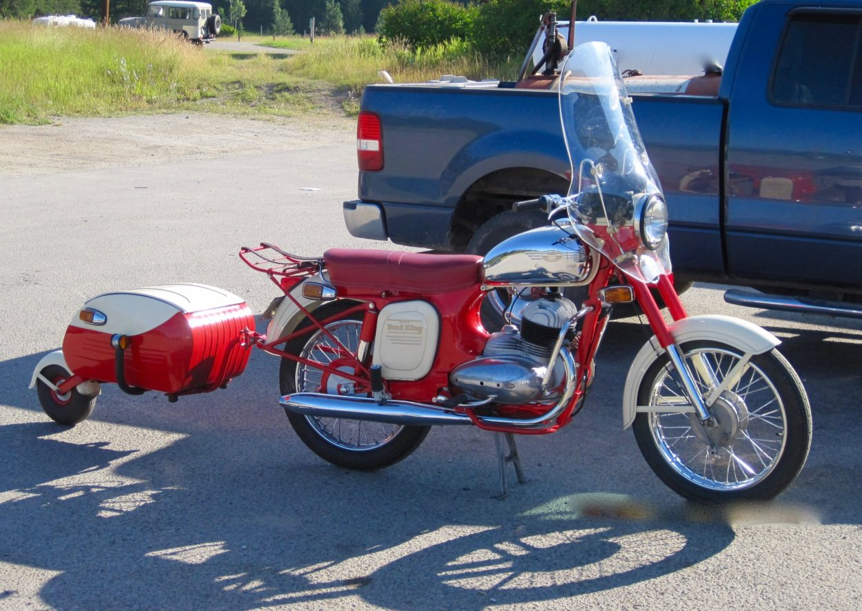 1966 Eatons (Jawa) 350 twin Road King    Reduced price***$7500 cad ***