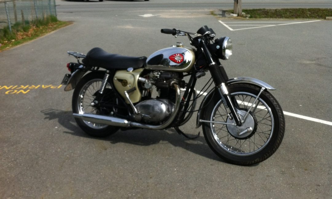 1967 BSA A65 Lightning     $6200 Cad