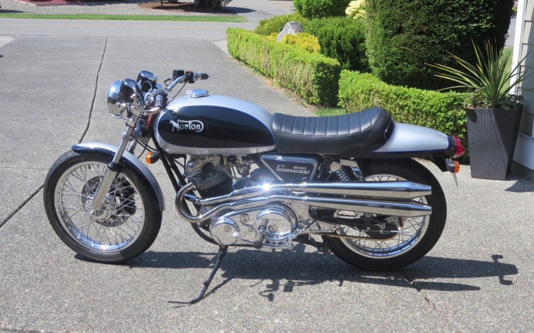 1974 Norton Interstate Fastback with CnW parts and accessories   $25,000 cad