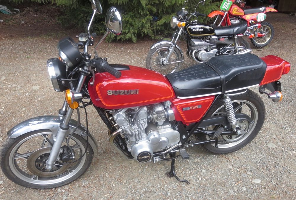 1980 Suzuki GS550 E/ 4         $1700cad