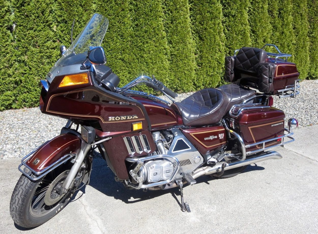 1983 Honda Gold Wing 1100            $2850