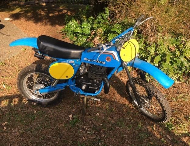 1978 Bultaco MK11 Pursang 370cc          $8000cad