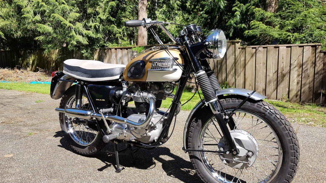 1964 Triumph T120C      $10,000 cdn