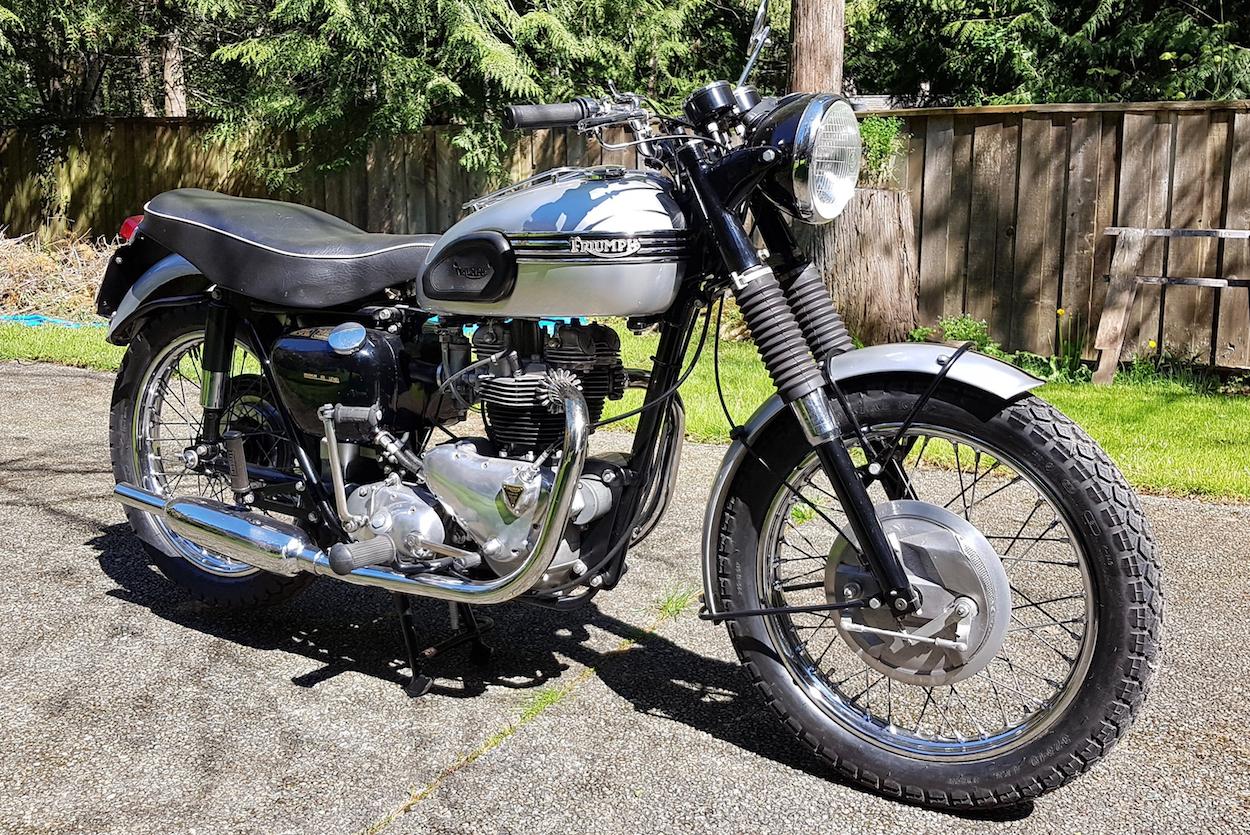1954 Triumph T110   $7500
