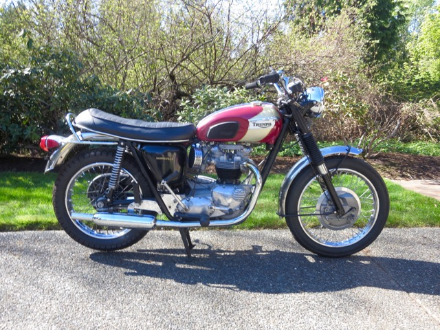 1970 Triumph 120R Bonneville           $18,000cdn