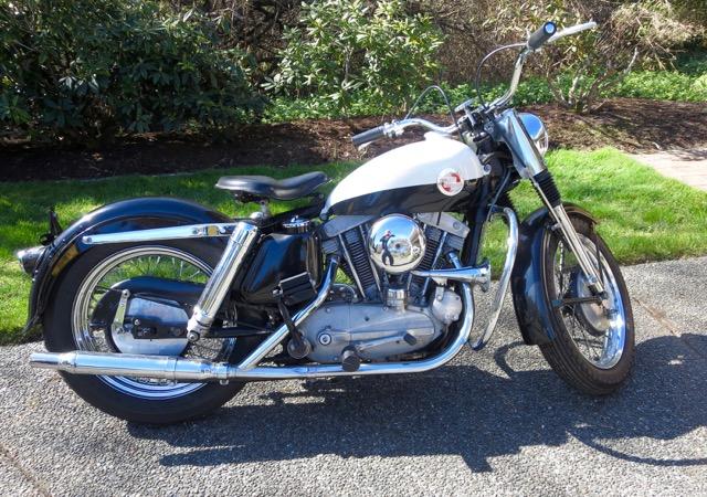 1957 Harley Davidson Sportster 1st Year     $32,000 cdn