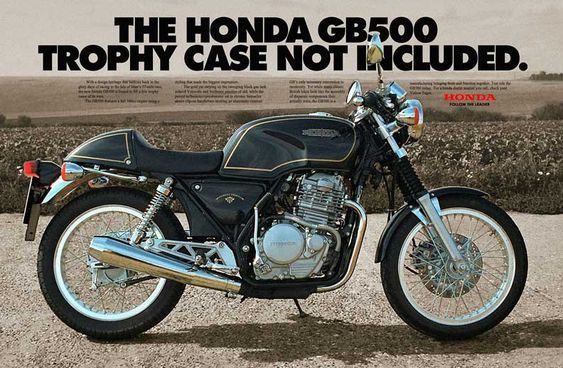 1989 Honda GB 500  Tourist Trophy       $8000 cad