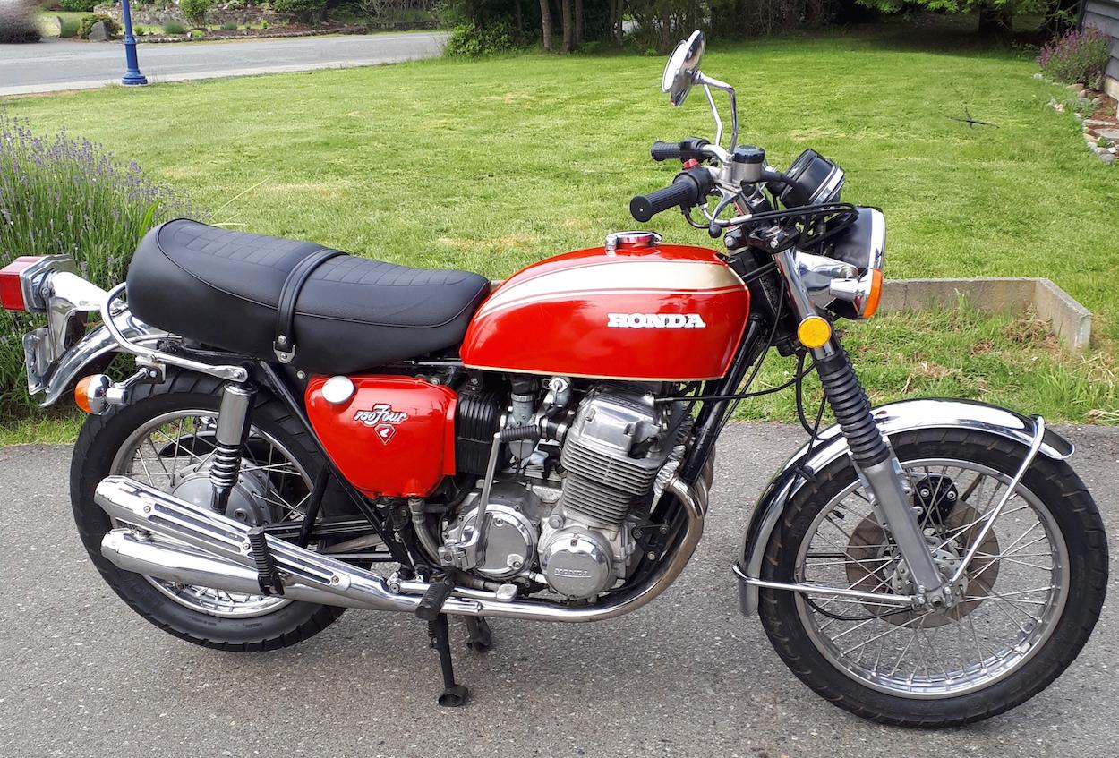 1972 Honda CB750  K2             Price reduced to ***  $5000 cad ***