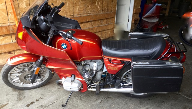 1979 BMW R100RT              SORRY SOLD