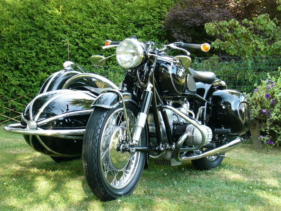 1968 BMW R60/2 with Steib S500 Sidecar     $38,000 Canadian