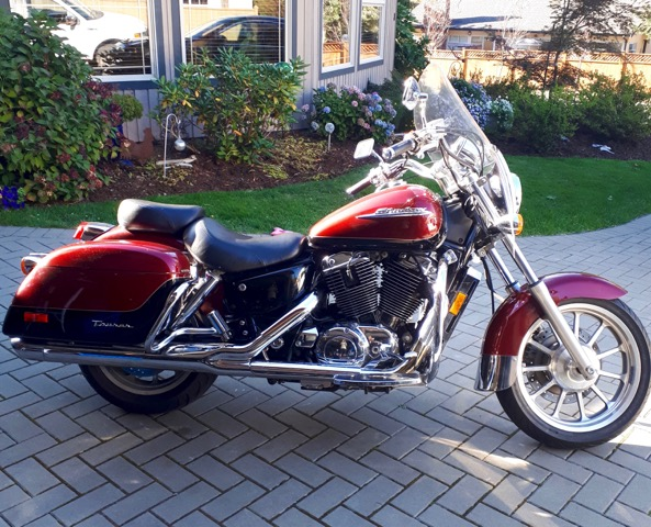 1998 Honda Shadow Ace Touring VT1100           SOLD