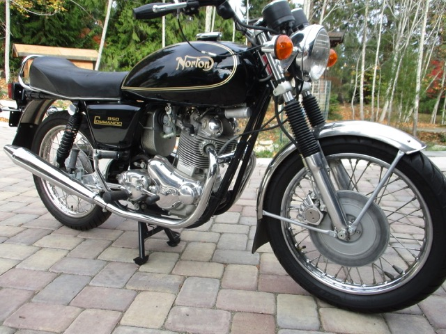 1973 Norton 850cc Interstate      SORRY SOLD