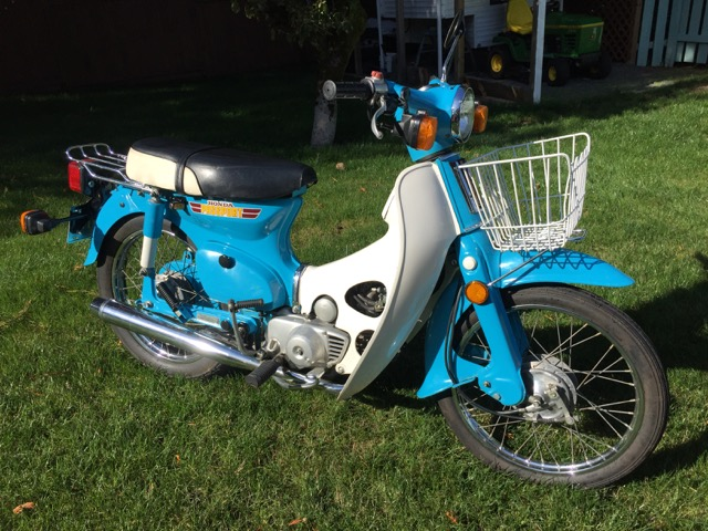 1981 Honda C70 Passport             $3000 cad