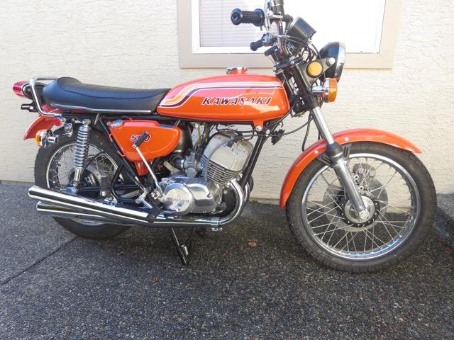 1972 Kawasaki Mach 111 500 H1b        $12,000cad