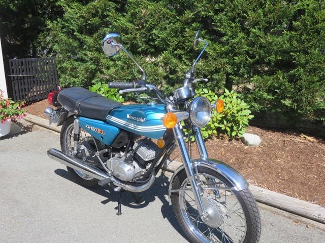 1978 Yamaha KH100 ET                      SOLD