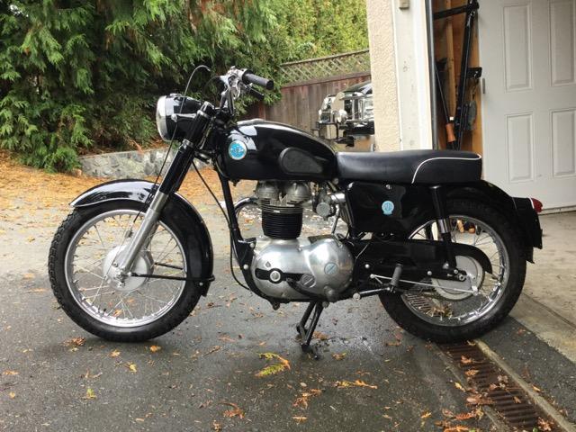 1962 AJS Model 8 / 350cc                        $ 6000