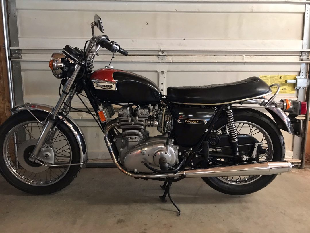 1974 Triumph Trident T150V                    $10,200 or Reasonable Offer