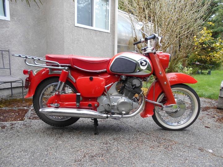 1964 Honda Dream Touring  CA 77/ 305 cc                      $5800cad