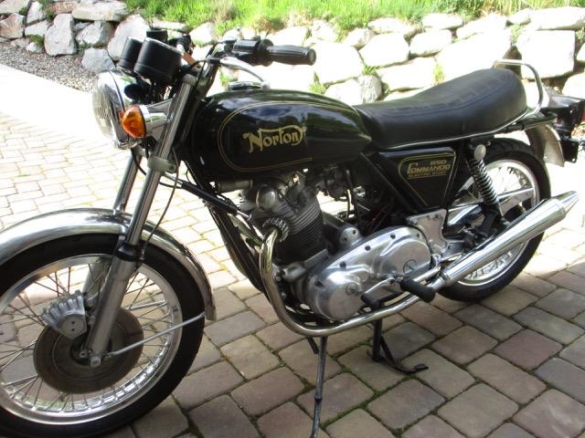 1975 Norton Commando 850 Mk111                             $13,700 cad