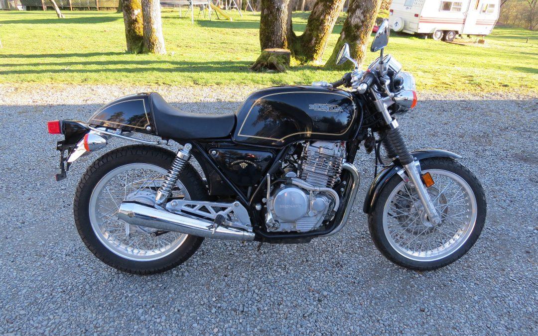 1989 Honda GB500TT     $9500cad