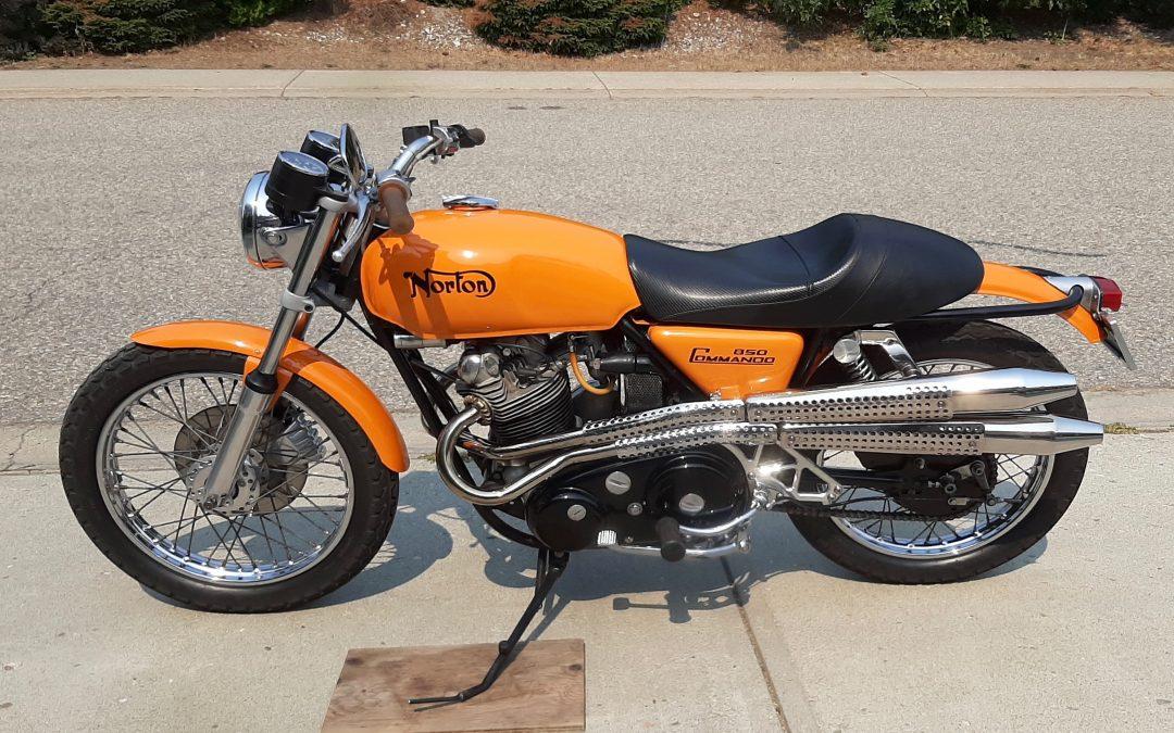1973 Norton Commando MK1 850             $12,900