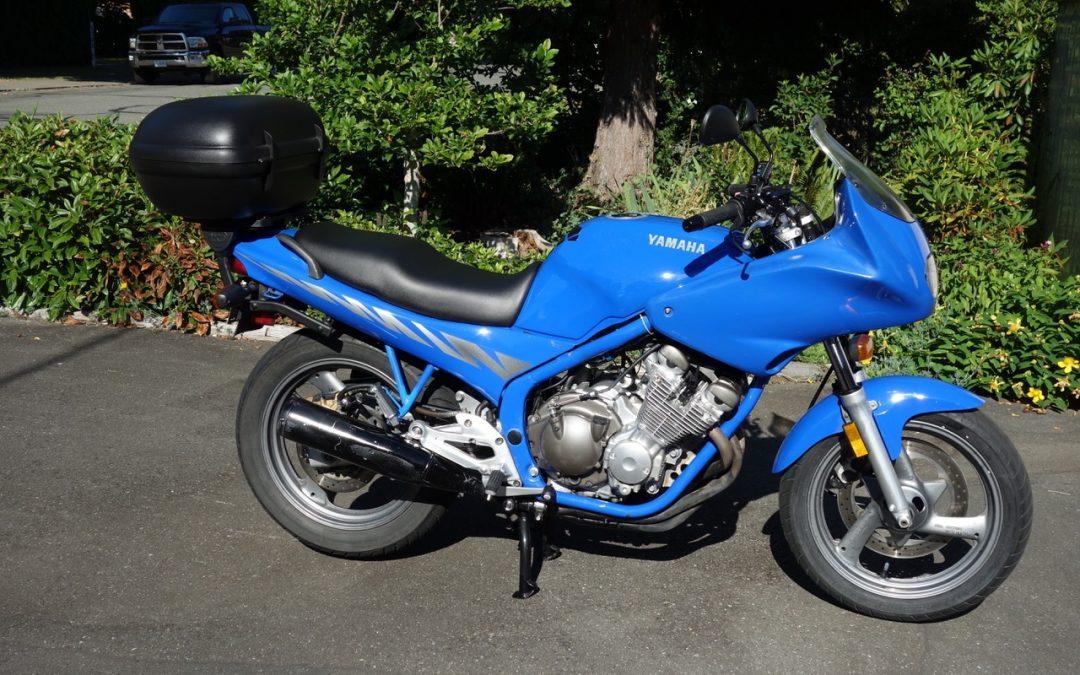1994 Yamaha Seca 11 600cc    $4500 cad