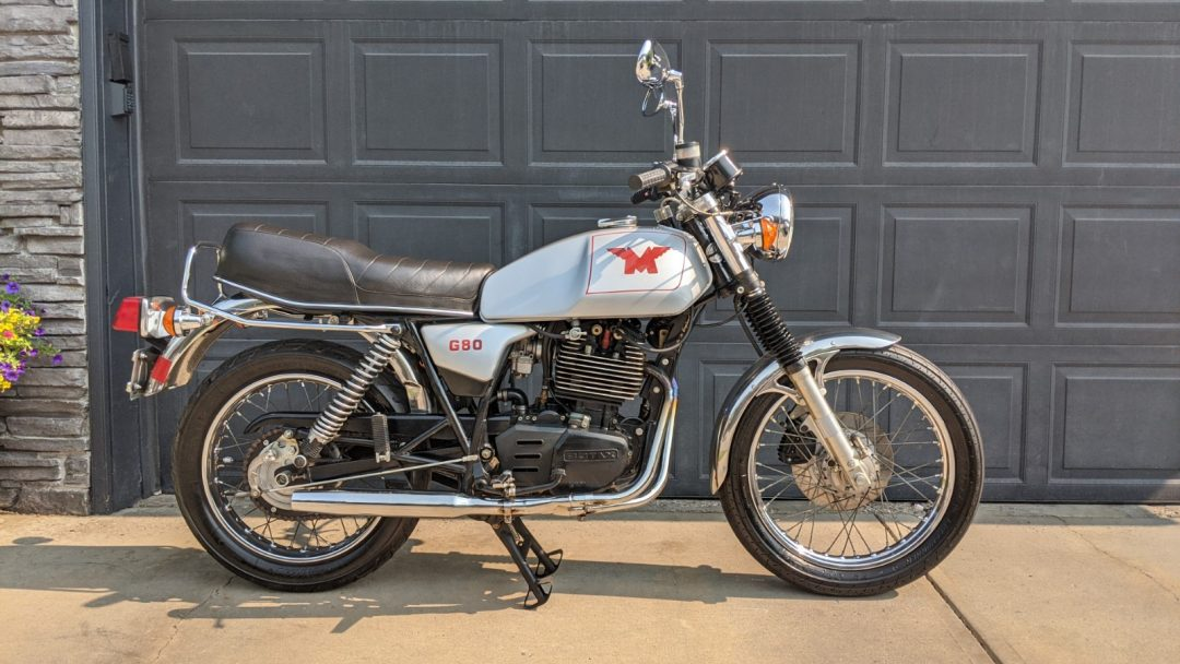 1988 Matchless G80   (Harris Matchless with Rotax 500cc)              $7200cad