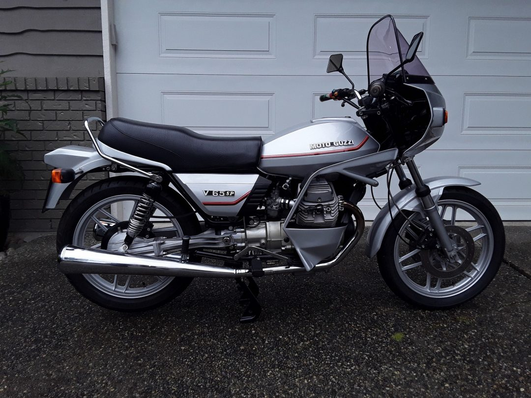 1983 Moto Guzzi V65SP                   SORRY  I AM SOLD
